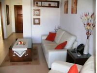ONLY BETWEEN 31ST AUG-9TH SEPT LEFT IN 2018. £55 A DAY RENTAL 2 BEDROOM 2 BATHROOM IN MURCIA SPAIN