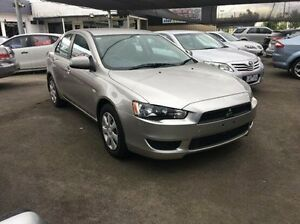 2012 Mitsubishi Lancer CJ MY12 ES Sportback Silver 6 Speed Constant Variable Hatchback Maidstone Maribyrnong Area Preview
