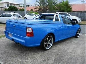 2010 Ford Falcon FG Ute Super Cab Blue 5 Speed Sports Automatic Utility Wynnum Brisbane South East Preview