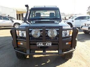 2009 Toyota Landcruiser Grey Manual Cab Chassis Pakenham Cardinia Area Preview