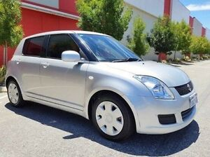 2009 Suzuki Swift RS415 GLX Silver 4 Speed Automatic Hatchback Cannington Canning Area Preview