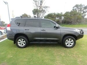 2013 Toyota Landcruiser Prado GRJ150R GXL Grey 5 Speed Sports Automatic Wagon Silver Sands Mandurah Area Preview