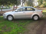 2007 Mitsubishi Lancer CJ MY08 ES Silver 6 Speed Constant Variable Sedan Beverley Charles Sturt Area Preview