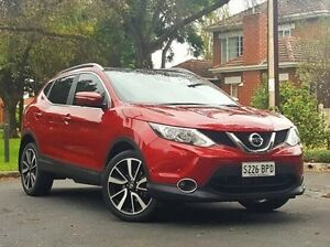 2014 Nissan Qashqai J11 TI Red 1 Speed Constant Variable Wagon Medindie Gardens Prospect Area Preview