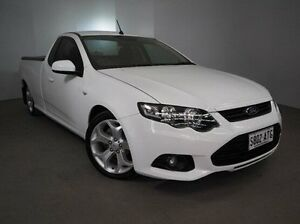 2012 Ford Falcon FG MkII XR6 Ute Super Cab White 6 Speed Sports Automatic Utility Mount Gambier Grant Area Preview