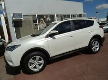 2013 Toyota RAV4 ASA44R Cruiser AWD White 6 Speed Sports Automatic Wagon Kirrawee Sutherland Area Preview
