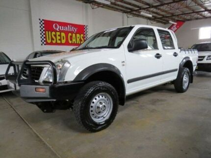 2006 Holden Rodeo RA MY06 LX Crew Cab Alpine White 4 Speed Automatic Utility Fyshwick South Canberra Preview