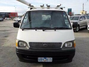 2000 Toyota Hiace White Manual Van Pakenham Cardinia Area Preview