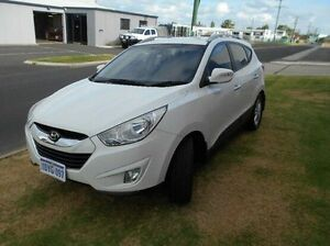 2012 Hyundai ix35 LM MY12 Elite AWD White 6 Speed Sports Automatic Wagon Bunbury Bunbury Area Preview