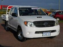 2008 Toyota Hilux KUN16R MY08 SR White 5 Speed Manual Utility Spearwood Cockburn Area Preview