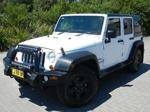 2013 Jeep Wrangler JK MY2013 Sport White 6 Speed Manual Softtop Windsor Hawkesbury Area Preview