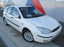 2003 Ford Focus LR MY2003 CL White 5 Speed Manual Hatchback Bunbury Bunbury Area Preview