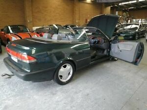 1994 Saab 900 S Green 5 Speed Manual Cabriolet Heidelberg West Banyule Area Preview