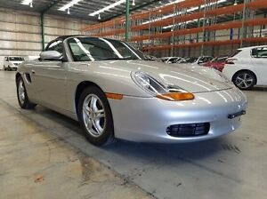 2001 Porsche Boxster 986 MY02 Silver 5 Speed Sports Automatic Convertible Fyshwick South Canberra Preview