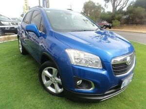 2015 Holden Trax TJ MY15 LS Blue 6 Speed Automatic Wagon Mandurah Mandurah Area Preview