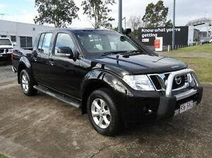 2012 Nissan Navara D40 S6 MY12 ST Black 6 Speed Manual Utility Wynnum Brisbane South East Preview