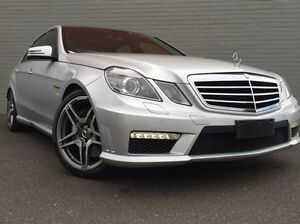 2009 Mercedes-Benz E63 W212 AMG SPEEDSHIFT MCT Silver 7 Speed Sports Automatic Sedan Southbank Melbourne City Preview