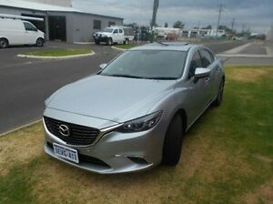2015 Mazda 6 GJ1032 GT SKYACTIV-Drive Silver 6 Speed Sports Automatic Sedan Bunbury Bunbury Area Preview