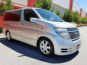 2004 Nissan Elgrand E51 Highwaystar Silver 5 Speed Automatic Wagon Cannington Canning Area Preview