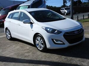 2013 Hyundai i30 GD Active Tourer White 6 Speed Sports Automatic Wagon Morningside Brisbane South East Preview