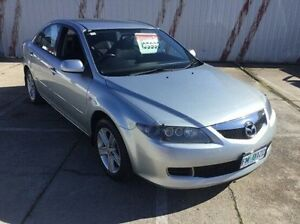 2006 Mazda 6 GG1032 Classic Silver 6 Speed Manual Hatchback Invermay Launceston Area Preview