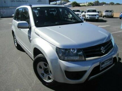 2013 Suzuki Grand Vitara JB MY13 Urban 2WD Silky Silver 4 Speed Automatic Wagon Melrose Park Mitcham Area Preview