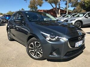 2016 Mazda 2 DJ2HAA Genki SKYACTIV-Drive Grey 6 Speed Sports Automatic Hatchback Melville Melville Area Preview
