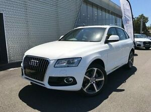 2015 Audi Q5 8R MY16 TDI S tronic quattro White 7 Speed Sports Automatic Dual Clutch Wagon Coffs Harbour Coffs Harbour City Preview