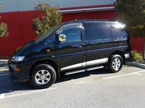 2002 Mitsubishi Delica Black Automatic VAN WAGON Cannington Canning Area Preview