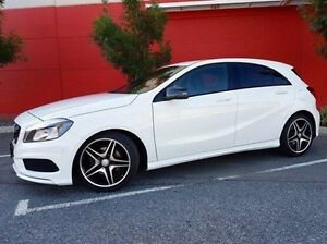 2013 Mercedes-Benz A200 W176 D-CT White 7 Speed Sports Automatic Dual Clutch Hatchback Cannington Canning Area Preview