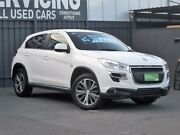 2013 Peugeot 4008 MY13 Active 2WD White 6 Speed Constant Variable Wagon Old Reynella Morphett Vale Area Preview