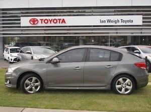 2012 Holden Cruze JH Series II MY13 SRi-V Grey 6 Speed Sports Automatic Hatchback Rockhampton Rockhampton City Preview