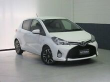2015 Toyota Yaris NCP131R SX White 4 Speed Automatic Hatchback Windsor Gardens Port Adelaide Area Preview