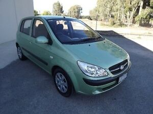 2009 Hyundai Getz TB MY09 SX Green 4 Speed Automatic Hatchback Yarrawonga Moira Area Preview