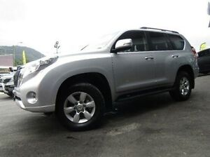 2014 Toyota Landcruiser Prado KDJ150R MY14 GXL Silver 5 Speed Sports Automatic Wagon Earlville Cairns City Preview