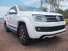 2015 Volkswagen Amarok 2H MY15 White 8 Speed Automatic Utility The Narrows Darwin City Preview
