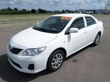 2012 Toyota Corolla ZRE152R MY11 Ascent White 4 Speed Automatic Sedan Hyde Park Townsville City Preview