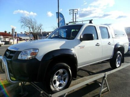 2010 Mazda BT-50 B3000 Boss DX White 5 Speed Manual Utility Invermay Launceston Area Preview