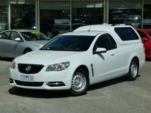 2014 Holden Ute VF MY14 Ute White 6 Speed Sports Automatic Utility Diggers Rest Melton Area Preview