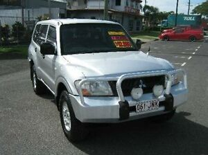 2002 Mitsubishi Pajero NM MY2002 GLX Silver 5 Speed Manual Wagon Bungalow Cairns City Preview