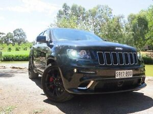 2012 Jeep Grand Cherokee WK MY2013 SRT-8 Black 5 Speed Sports Automatic Wagon Christies Beach Morphett Vale Area Preview