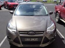 2013 Ford Focus LW MKII Trend PwrShift Brown 6 Speed Sports Automatic Dual Clutch Hatchback Mount Gambier Grant Area Preview