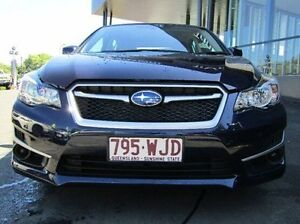 2016 Subaru Impreza G4 MY16 2.0i Lineartronic AWD Blue 6 Speed Constant Variable Hatchback Earlville Cairns City Preview