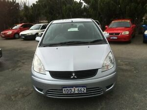 2009 Mitsubishi Colt RG MY08 ES Silver Continuous Variable Hatchback South Fremantle Fremantle Area Preview