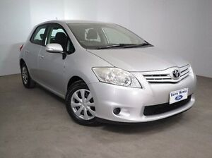 2011 Toyota Corolla ZRE152R MY11 Ascent Silver 4 Speed Automatic Hatchback Mount Gambier Grant Area Preview
