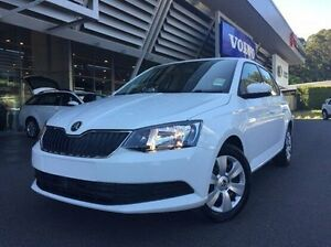 2016 Skoda Fabia NJ MY17 66TSI White 5 Speed Manual Hatchback Coffs Harbour Coffs Harbour City Preview