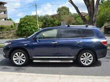 Perfect 2012 Toyota Kluger Wagon Grande AWD Blue GSU45R 5 Sp Auto Frenchs Forest Warringah Area Preview