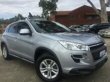 2013 Peugeot 4008 MY12 Active 2WD Silver 6 Speed Constant Variable Wagon Melville Melville Area Preview