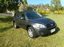2010 Toyota RAV4 ACA33R MY09 CV Grey 4 Speed Automatic Wagon Derwent Park Glenorchy Area Preview