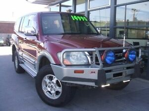 2002 Mitsubishi Pajero NM MY2002 Exceed Maroon 5 Speed Sports Automatic Wagon Invermay Launceston Area Preview